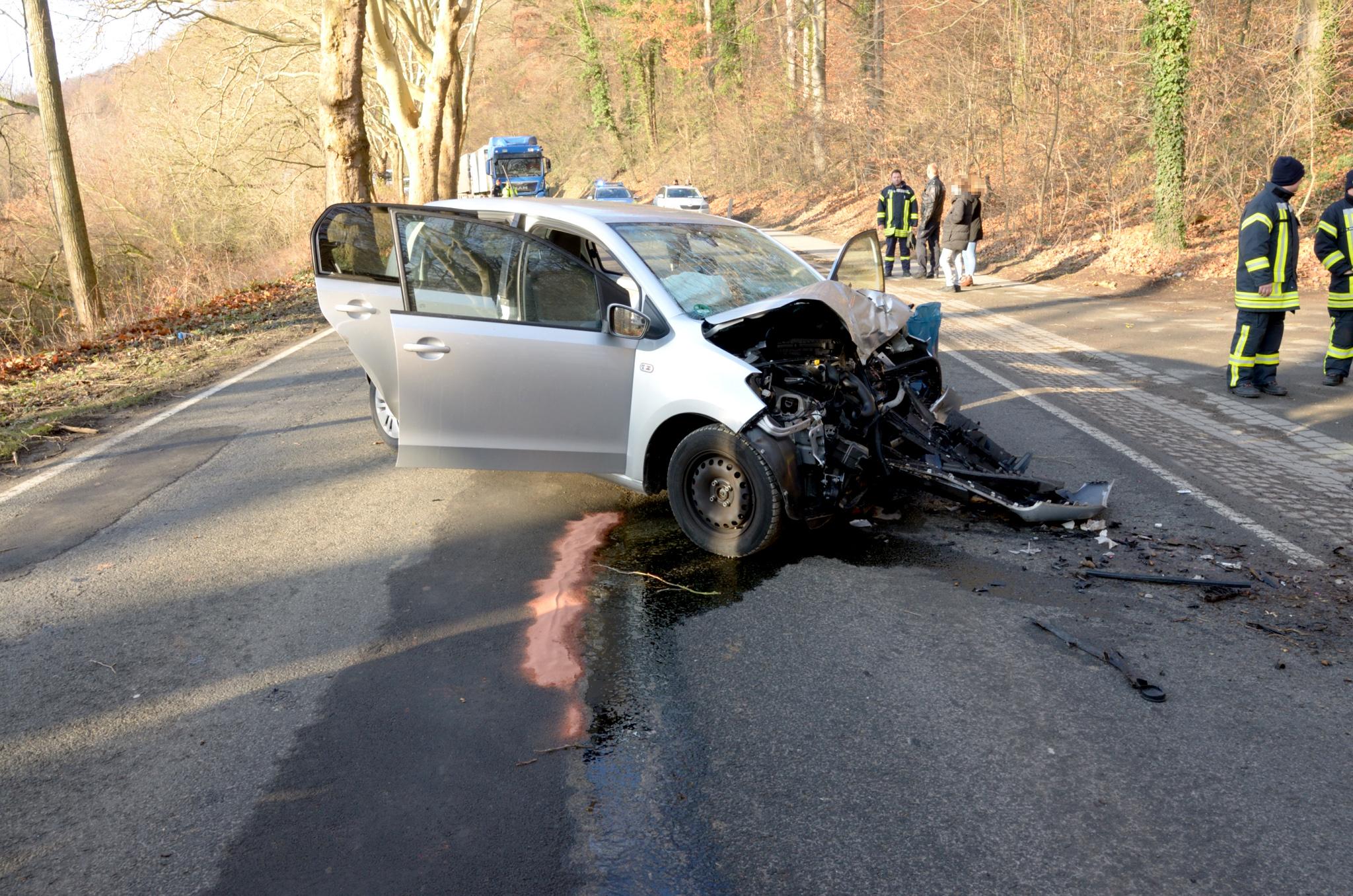 Verkehrsunfall zwischen Adensen und Nordstemmen