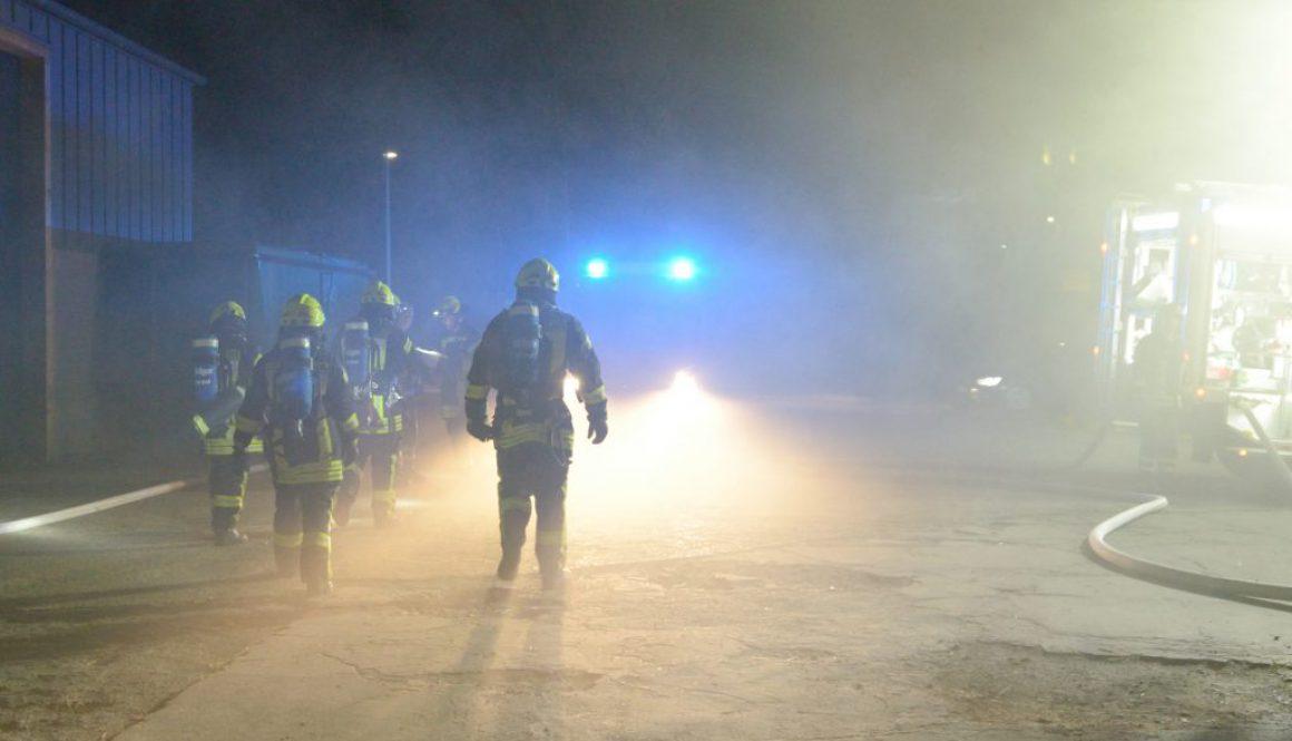 Feuerwehrübung in Burgstemmen_ Bild 1