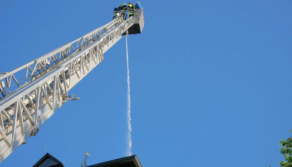 Feuer im Heyersumer Kirchturm – Spannende Übung am Donnerstag
